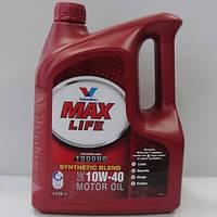 Полусинтетическое моторное масло Valvoline Max Life 10w40