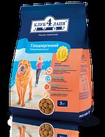 Клуб 4 лапы корм для собак гипоаллергенный с ягненком и рисом, 3 кг
