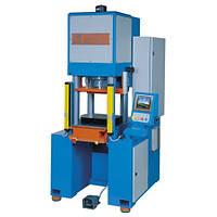 Гидравлический пресс 100 тонн с системой ЧПУ модель Т.100 4СL