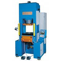 Гидравлический пресс 150 тонн с системой ЧПУ модели NKT. 150