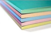 Блокнот А5 50 листов чистый цветной офсет, обложка картон