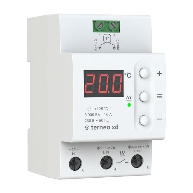 Для систем охолодження та вентиляції Терморегулятор terneo