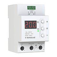 Терморегулятор terneo xd для систем охлаждения и вентиляции