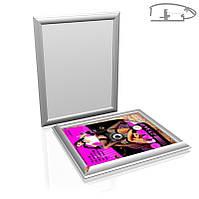 Клик рамка для постера 41мм для формата А1 (594х841) (Вид угла: Острые углы;  Состав: Рамка и печать плаката на бумаге;), фото 1