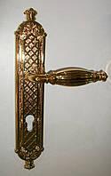 Дверная ручка  Pasini QUEEN Yale 85мм PVD, фото 1