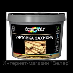 Грунтовка защитная для дерева Kompozit 10л