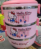 Детский ланч бокс  Hello Kitty