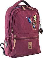 Рюкзак подростковый Yes Oxford 194, бордовый