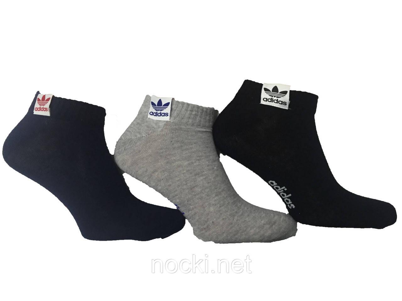 f9ac229bc4af Носки мужские хлопок спорт низкие укороченные Adidas(Адидас) пр-во Турция:  продажа, ...