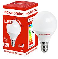 Светодиодная лампа Economka G45 6w E14 4200K