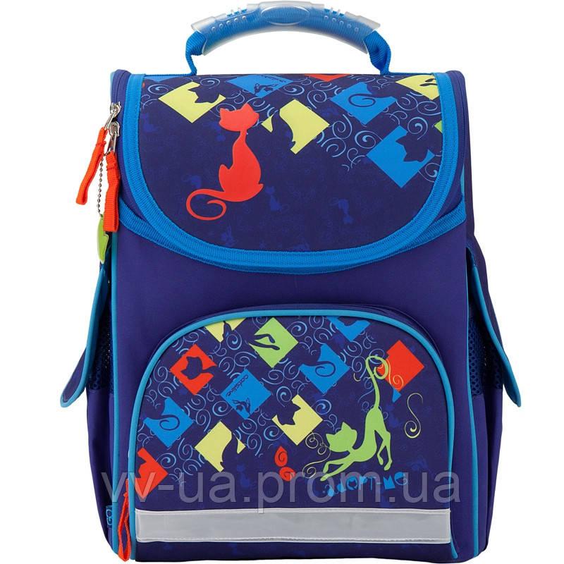 Рюкзак школьный каркасный GoPack 5001SP-1 (GO17-5001SP-1)