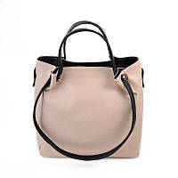 Женская сумка комбинированая  из кожзаменителя М130-66/47