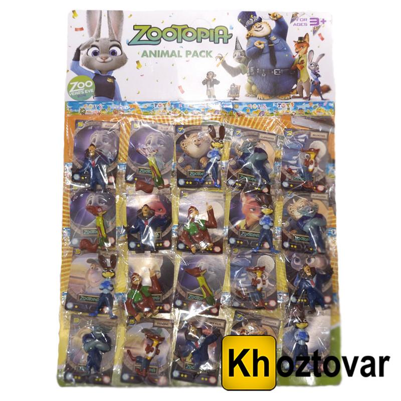 """Набір фігурок для дітей від 3 років """"Зверополис"""" ZooTopia Kit № 2"""