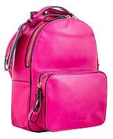 Сумка-рюкзак молодежная Yes Weekend, розовая, 26*18*9, для женщин (554102)