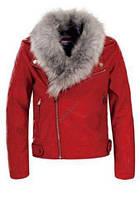Кожаная куртка для девочек Glo-Story, 134/140-170 рр., арт. gpy5715