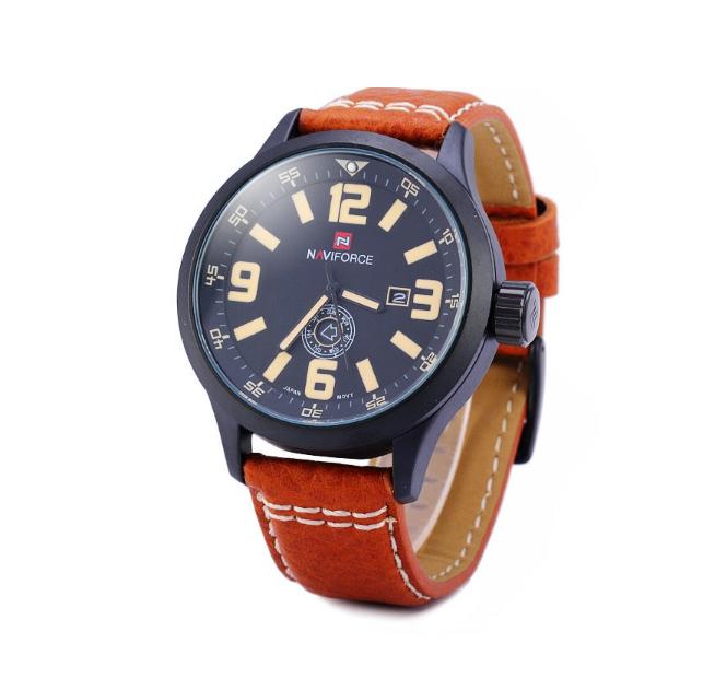 Спортивные наручные часы мужские кварцевые Naviforce 9074