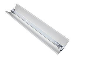 Светильник под LED лампу трассовый 100lamp открытый 1x1200мм СПВ 01-1200 стандарт