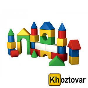 """Конструктор для дітей від 3 років (будівельний набір) """"Містечко"""""""