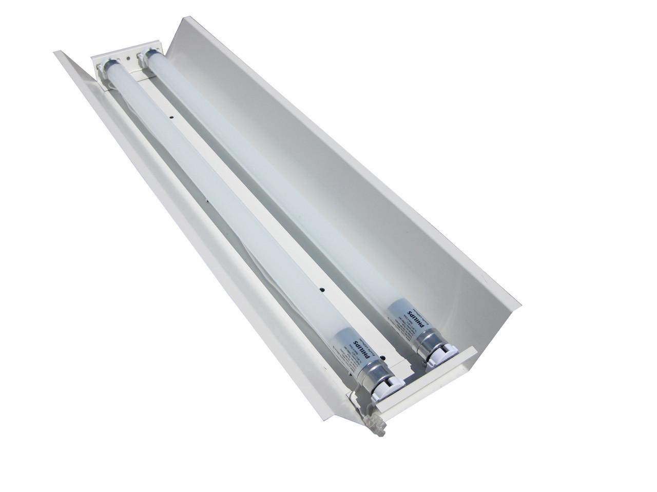 Светильник открытый под две led лампы 120см Т8 100lamp СПВ 02-1200 стандарт (613347)