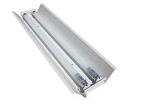 Светильник открытый под две led лампы 120см Т8 100lamp СПВ 02-1200 стандарт (613347), фото 2