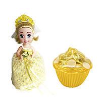 """Кукла Cupcake Surprise серии """"Невесты-капкейки""""Лиза с ароматом лимона (1105-1)"""