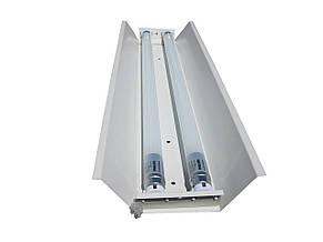 Светильник под LED лампу трассовый 100lamp открытый 2*1500мм СПВ 02 1500, фото 3