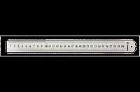 Topex линейка 30 см, нержавеющая сталь