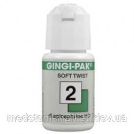 Gingi-Pak ( Джинджи-Пак), нитка ретракционная, №2, зелена