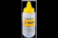Topex Мел трассировочный для шнуров разметочных, синий