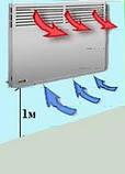 Электроконвектор универсальный Термия Комфорт ЭВУА-2,0/230 (сп) + крепеж, фото 5