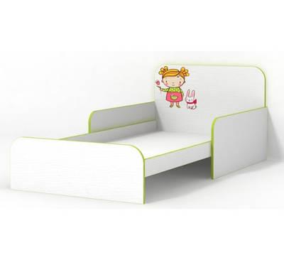 Кровать Яблочко с бортиками