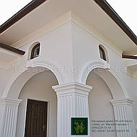 Фасад декор:Карнизы из пенопласта INT-DECO