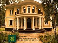 Колонны из пенопласта, фасад декор