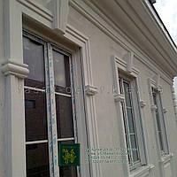 Фасадный декор: замковый камень