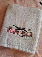 Спортивний рушник з фірмовим логотипом My volleyball world