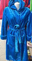 Шикарный махровый женский халат 1509-7