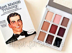 Тени для век The Balm Meet Matt(e) Trimony (9 цветов)