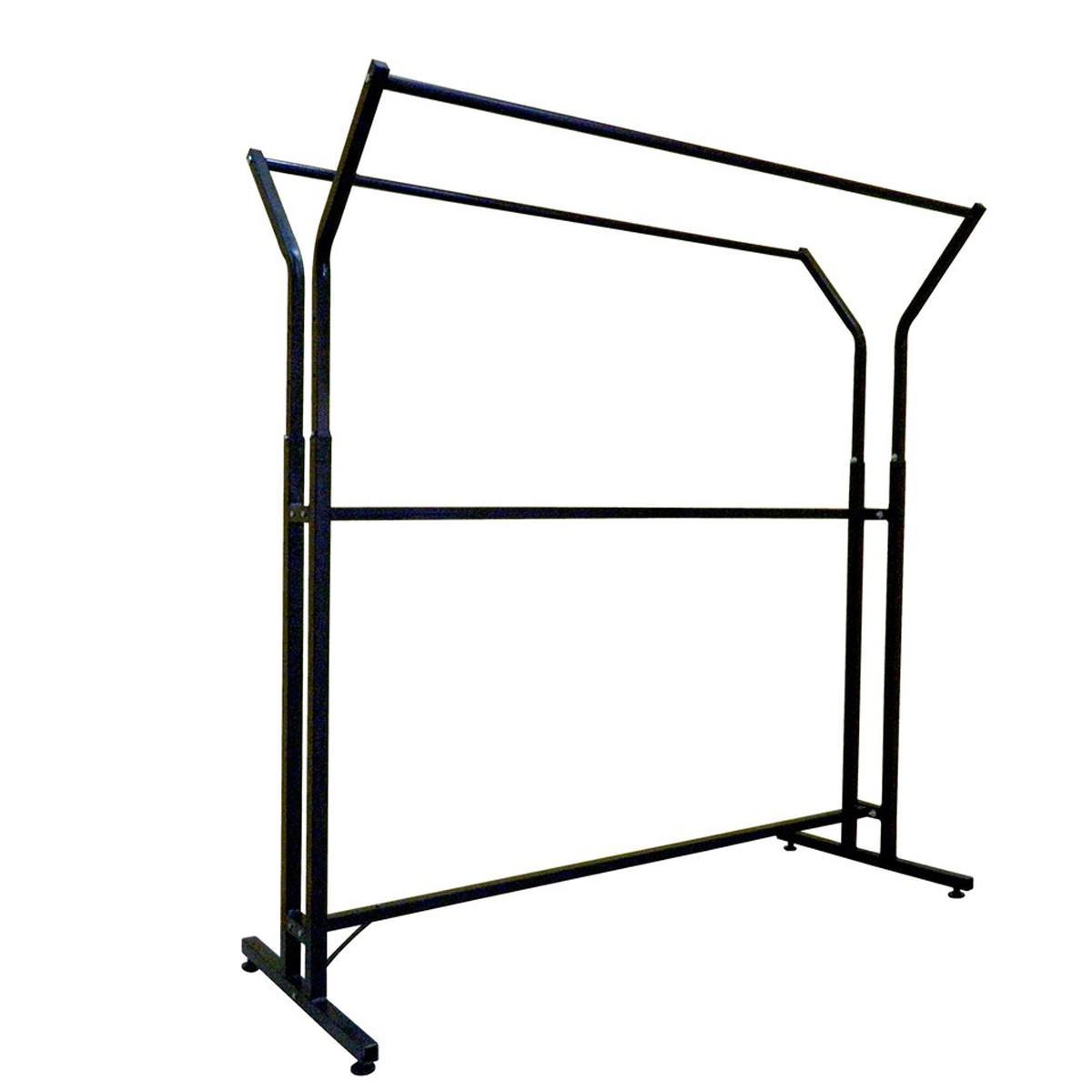 Стойка-вешало металлическая 155 см на две стороны для одежды (от производителя)