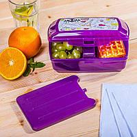 Пищевой контейнер для завтрака с охлаждающим элементом 1.3 литра BranQ