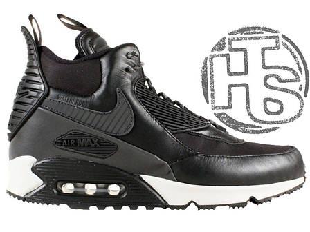 Мужские кроссовки Nike Air Max 90 Sneakerboot Black White 684714-001, фото 2 821e2fa0a67