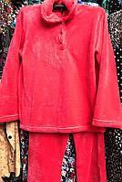 Теплая махровая пижама  1509-8