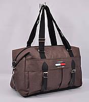 Дорожная сумка Tommy Hilfiger 1321-2 коричневая