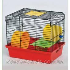 Клетка для грызунов Хомяк 1 краска люкс