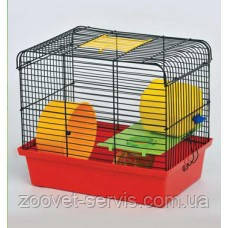 Клетка для грызунов Хомяк 1 краска люкс, фото 2