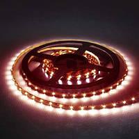 Светодиодная лента Feron LS603/ SANAN LED-RL 60SMD/m 4,8W/m 12V красный на белом 5м IP20