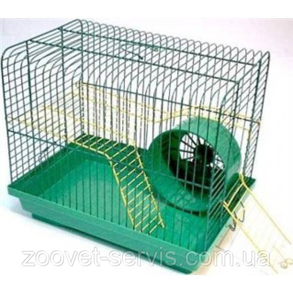 Клетка для хомячков ХОМЯК - 2 цинк