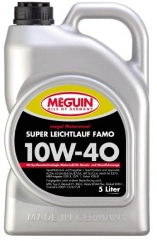 Полусинтетическое моторное масло Meguin Megol Motorenoel Super Leictlauf Famo 10W-40 5L
