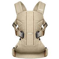 Эргономичный рюкзак-кенгуру Babybjorn Baby ONE Khaki/Beige (хакки-бежевый), фото 1