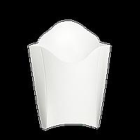 Упаковка Картонная для Картофеля Фри «миди» Белая  200г 175х130 25шт