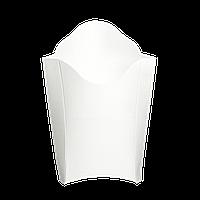 Упаковка Картонная для Картофеля Фри «макси» Белая  250г 195х143 25шт